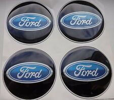 4x (silicone) FORD logo rim Center labels/stickers,56mm,for wheel covers rim
