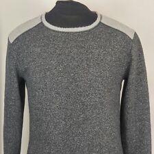 Tommy Bahama Mens Sz M Casual Sweatshirt Gray Long Sleeve Soft Knit Shirt EUC