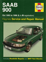 SAAB 900 SHOP MANUAL SERVICE REPAIR HAYNES CHILTON BOOK TURBO WORKSHOP GUIDE