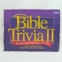 Bible Trivia II - The Game That's Heaven To Play 1996 Vintage