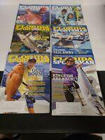 Lot of 6 Florida Sportsman Fishing Back Issue Magazine Bundle From 2017