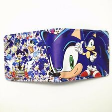 Sonic Wallet Hedgehog Bifold Blue Game Coins Cards Notes