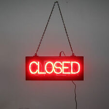 New Brightest Red Led Open or Closed sign for business for window opti neon