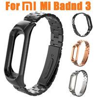 Stainless Steel Bracelet Watch Wrist Strap Metal Wristband For XiaoMi Mi Band 3