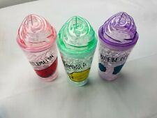 Frosty Mason Jar Super Ice Cup, Beer, Soft Drinks, random color will be sent