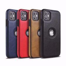 De Alta Calidad De Cuero Estuche con cubierta posterior del teléfono para iPhone 12/MINI/PRO/Promax