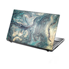 "TaylorHe Laptop Skin 13-14"" Vinyl Sticker Decal Protection Cover Flowing Marble"