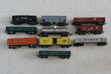Vintage American Flyer LOT  10 Freight Box Cars Tanker Rolling Stock S Scale l7