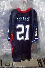NFL BUFFALO BILLS WILLIS McGAHEE REEBOK ROYAL BLUE & RED REPLICA JERSEY ADUL 2XL