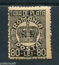 ROUMANIE - ROMANIA, 1947, timbre TAXE 99, COURONNE, neuf**, VF MNH stamp