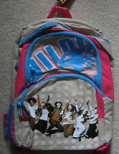 High School Musical Tan & Blue BACKPACK  NEW!