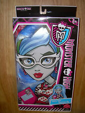 NIB 2012 MONSTER HIGH Girls GHOULIA YELPS GHOULICIOUS WIG Dress-Up Costume Play