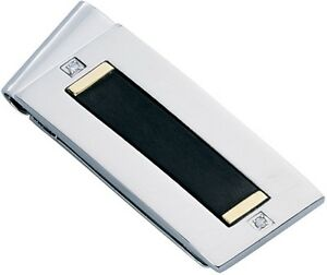 Dolan-Bullock NMC-013000 Rome Collection ss, Titanium,18k gold money clip