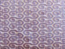 "Beautiful Old World Weavers Fabric ""HALLAND"" in Mauve 3+ Yards Cut Velvet"