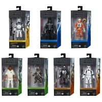 Star Wars The Black Series 6-Inch Case Set 8 Action Figures Wave 1 In Stock