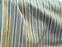 "Stripe Cotton Canvas Herringbone Home Decor Fabric 54"" wide, sold by yard"