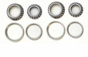 Front Wheel Bearing & Races Set For 1990-1997 Ford Ranger (4WD)