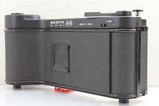 """N MINT+"" MAMIYA UNIVERSAL PRESS 6x9 Roll Film Adapter Back 120/220 ""RARE"" Japan"