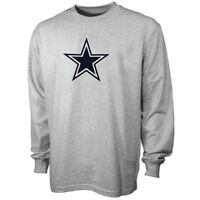 NFL Dallas Cowboys Premier Logo Men's Cotton Long Sleeve T-Shirt L