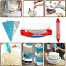 106x Cake Decorating Supplies Pieces Kit Baking Tools Turntable Stand Pen Set GI