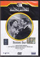Dvd Sceneggiati Rai «ROMEO BAR» di Anton Giulio Majano completa nuovo 1958