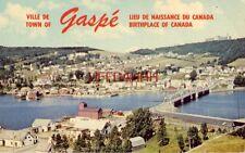 Ville De Gaspe, Lieu De Naissance Du Canada - Prise De L'Autre Cote De La Baie