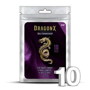 10 DRAGON X Male Enhancement Sex Pills for EXTREME ENHANCEMENT