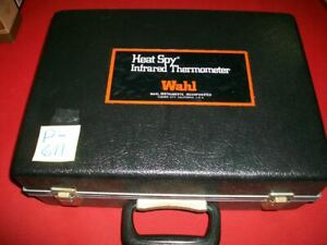 VINTAGE WAHL HEAT SPY INFRARED THERMOMETER MODEL HSA-1G PARTS OR REPAIR ONLY EXC