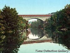 Echo Bridge, Newton, Massachusetts - ca. 1900 - Historic Photo Print