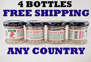4 Bottles St Dalfour EXCEL Whitening Cream