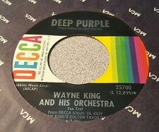 Wayne King And His Orchestra ‎– True Love / Deep Purple