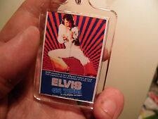 ELVIS PRESLEY         ON TOUR       FILM POSTER  LARGE   KEY RING