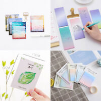 Colorful Self-Adhesive Memo Bookmark Sticky Note Office School Stationary Supply