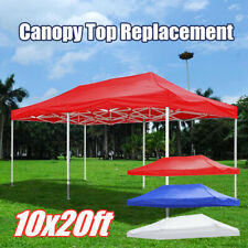 NEW EZ Up Canopy Top Replacement Outdoor Sunshade Tent Cover For 10'x10'