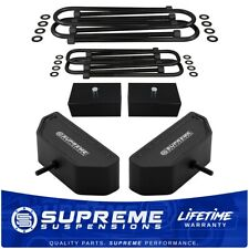 "3.5""F + 2""R Lift Kit For 99-04 F250 F350 Super Duty 4WD Lift Blocks + U-Bolts"