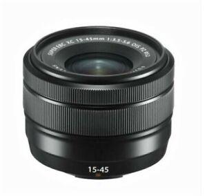 Fantastic Fujifilm Fuji XC 15-45mm f3.5-5.6 OIS Power Zoom Black