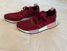 Adidas NMD R1 Women's Running Athletic Shoes Size 7.5 (B37646) Burgundy