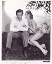 ELLEN DREW Swimsuit Original Vintage 1940 CHEESECAKE Portrait Photo RAY MILLAND