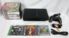 Sony PS2 SCPH-39001 Playstation 2 System Bundle + 14 Video Games Tomb Raider II