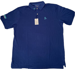 Scotty Cameron **Gallery Release** Navy Blue polo Shirt Surfer Circle T Size L