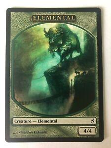 1x MTG - Green Elemental Token - Lorwyn - Played