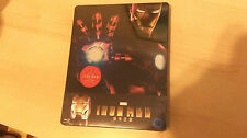 Iron Man Blu-ray Steelbook w/ 1/4 Slipcover | Korean NEW Marvel | not KimchiDVD