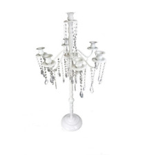 White Candelabra Wedding Event Party Table Centerpiece Table top Decoration