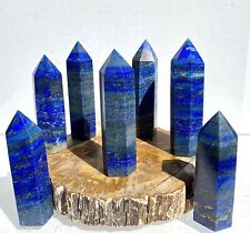 Wholesale Lot 1 Lb Lapis Lazuli Obelisk Tower Point Crystal Natural Energy