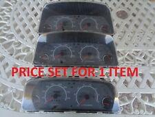 1989 TO 1991 METRO SWIFT 2 DOOR 4 DOOR CONVERTIBLE SPEEDOMETER WITH TACHOMETER