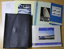 RENAULT MEGANE II OWNERS MANUAL HANDBOOK WALLET 2006-2008 PACK 2977