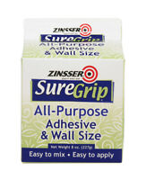 Zinsser  SureGrip  High Strength  Acrylic  Adhesive  8 oz.