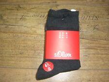s.Oliver Damen und Herren Socken, 4-er Pack,grau,TOPPREIS