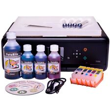 EDIBLE STARTER KIT: PRINTER, REFILL CARTRIDGES, INK, 25 DECOR PAPER