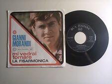 """Gianni Morandi–Mi Vedrai Tornare/La Fisarmonica -Disco 45 Giri 7"""" Italia1966"""